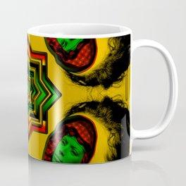 Faces Two Coffee Mug