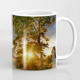 Golden Hour on the Prairie Coffee Mug