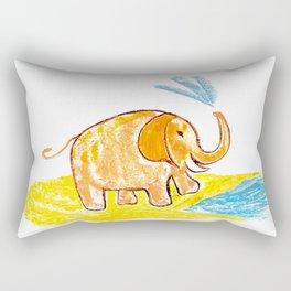 Funny elephant 2 Rectangular Pillow