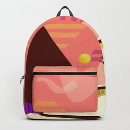 Zaha Hadid Heydar Aliyev Center Sunset Backpack