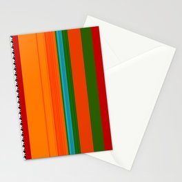 VIVID ART-DECO PATTERN Stationery Cards