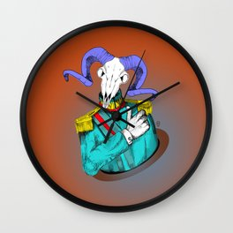 General Goat Likes This Wall Clock