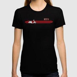 White Vespa Primavera ET3 T-shirt