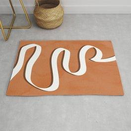 The Obstacle Way #minimal #illustration Rug