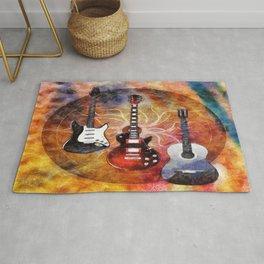Guitar Love Trio Rug