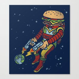 The End is Fry! Canvas Print