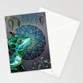Basilisk Lizard Stationery Cards