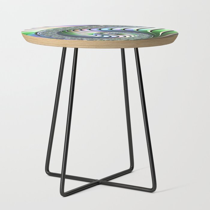 Colorful Spiral Side Table