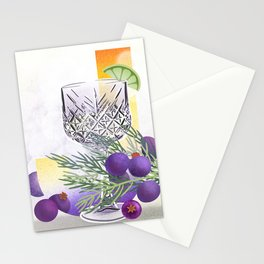 Juniper Berry Stationery Cards