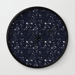 Zodiac Constellations - Libra Wall Clock