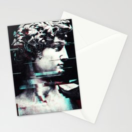 Abstract fractions of David Stationery Cards