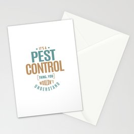 Pest Control Stationery Cards