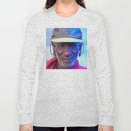 African Chief: Samburu Elder Long Sleeve T-shirt