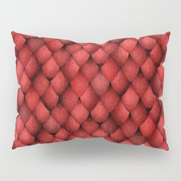Red Dragon Scales Pillow Sham