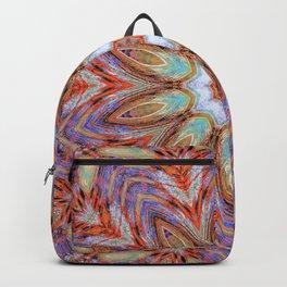 Sunny Day Kaleidoscope Mandala Fashion Design Backpack