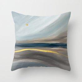 Sea dunes Throw Pillow