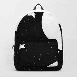 Moon Phases: waxing gibbous Backpack