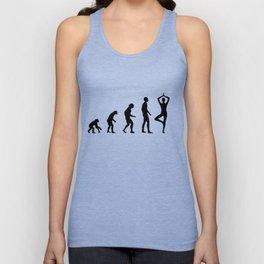 Yoga,meditation,evolution T-shirt  Unisex Tank Top