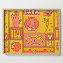Taurus Serving Tray