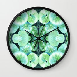 Kermit's Lily Pads (It's Not Easy Being Green) Wall Clock