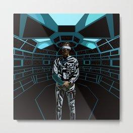 WhitelightDj Cyberpunk Metal Print