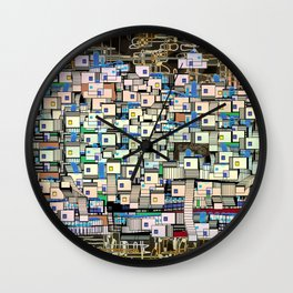 In the Wonderful Chaos Wall Clock