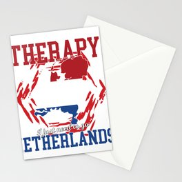 I don't need Therapy, i need  netherlands Stationery Cards