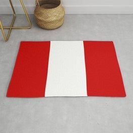 Flag of peru -Peruvian, Lima, latin america,america, quechua,aymara, andean, Arequipa,Piruw Rug