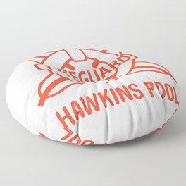 Lifeguard Of Hawkins Pool Vol.1 Floor Pillow