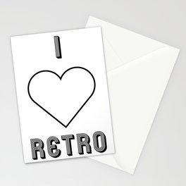 I love retro Stationery Cards
