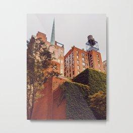 Rooftops lll Metal Print