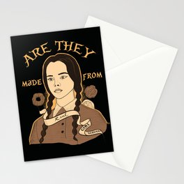 Wednesday Addams - Girl Scouts Stationery Cards
