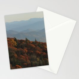The Blue Ridge Mountains NC, Fine Art Photography Stationery Cards