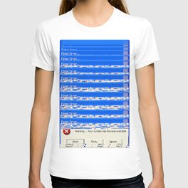 Warning Unstable T-shirt