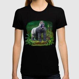 Silverback Gorilla Guardian of the Rainforest T-shirt