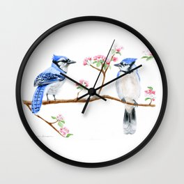 Hope and Courage by Teresa Thompson Wall Clock