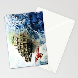 """""""The castle in the sky"""" Stationery Cards"""