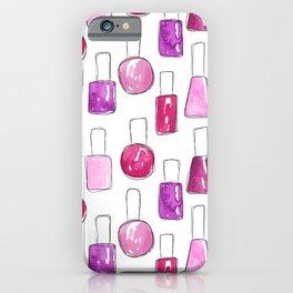 Nail Polish | Pink iPhone Case