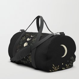 Moonlight Garden - Olive Green Duffle Bag