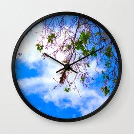Skies Above (1) Wall Clock