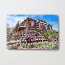 Calico Ghost Town - 7180, California Metal Print
