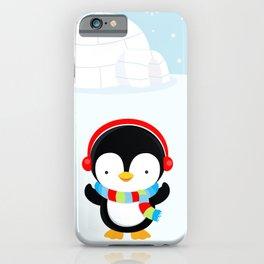 Cute penguin boy #2 iPhone Case