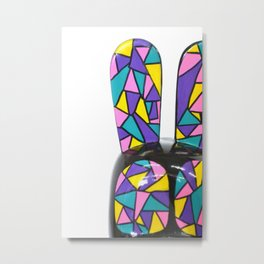 Kelid-ohh bunny I Metal Print