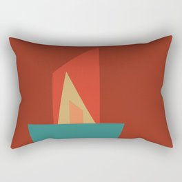 Little Boxes 2, Geometric Shapes Rectangular Pillow