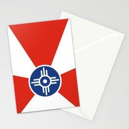Flag of Wichita, Kansas Stationery Cards