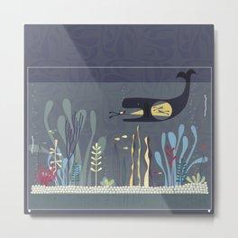 The Fishtank Metal Print