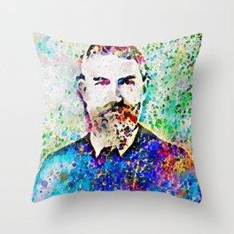 George Bernard Shaw 1. Throw Pillow
