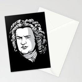 Bach Portrait Stationery Cards