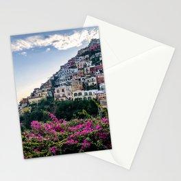 Positano cityscape, Italy Stationery Cards