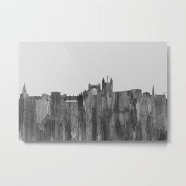 Bath, England Skyline - Navaho B&W Metal Print